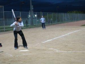 I am a hardcore softballer.